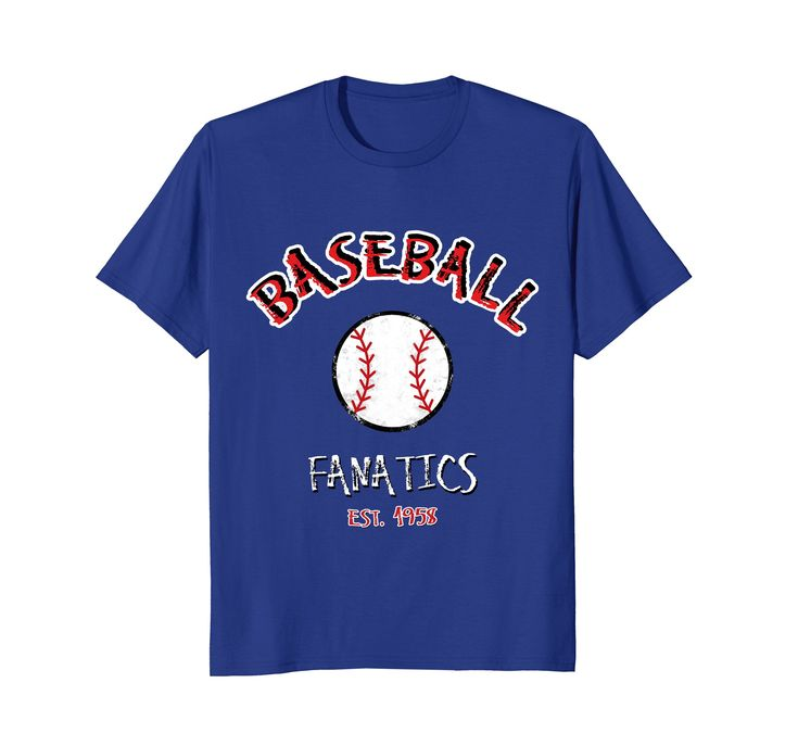Baseball Fanatic est. 1958 Cool Sports Tee Shirt by Scar Design. #Baseball #baseballfans #fans #Softball #Sports #Shirt  Buy it from my #Amazon store. For Men Women and Kids in 5 wonderful colors. #teeshirt #tees #shirts #clothing #style #fashion #baseballfather #family #son #father #mother #kids #colorful #streetwear #streetstyle #american #stars #america #usa #team  #softballteam #softballmother #softballfather #birthdaygift #gifts #cooltees #coolshirts #cool #awesome #baseballfan…