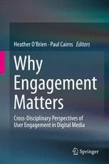 This chapter builds on previous work that positions user engagement on the user involvement continuum and suggests that user engagement is comprised of physical interactions with media, cognitive invo
