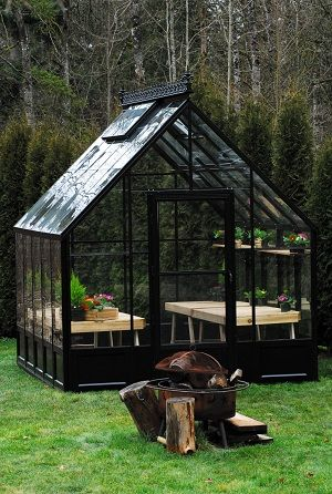 Backyard Greenhouse Ideas attractive backyard greenhouse ideas 23 wonderful backyard greenhouse ideas Want A Green House Like This One More Backyard Greenhousegreenhouse Ideasbackyard Cabingreen Housesgarden
