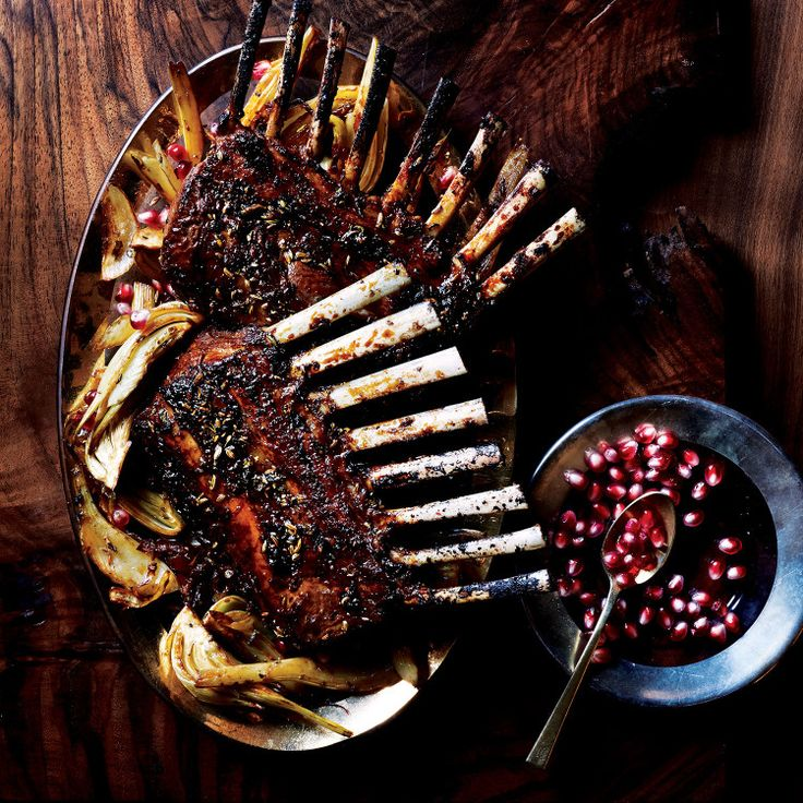 Two racks make enough for each person to have two chops. Cut between each bone individually for single chops, or cut into double-rib portions.