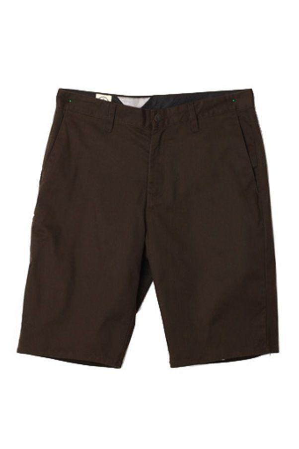 Edberth Shop Celana Pendek Pria - Coklat Tua - Int:30