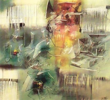 Roberto Matta, Eye-Forces on ArtStack #roberto-matta #art