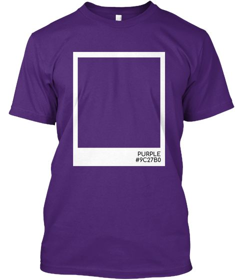 Purple Color Purple Kaos Front