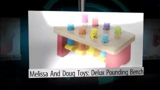 Melissa & Doug Toys: Deluxe Pounding Bench - YouTube