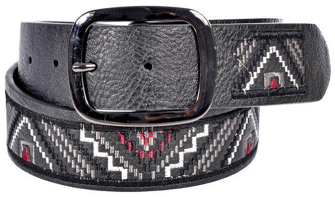 Sunny Belt Women's Aztec Design Fashion Jean Belt