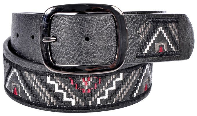 Sunny Belt Women's Aztec Design Fashion Jean Belt