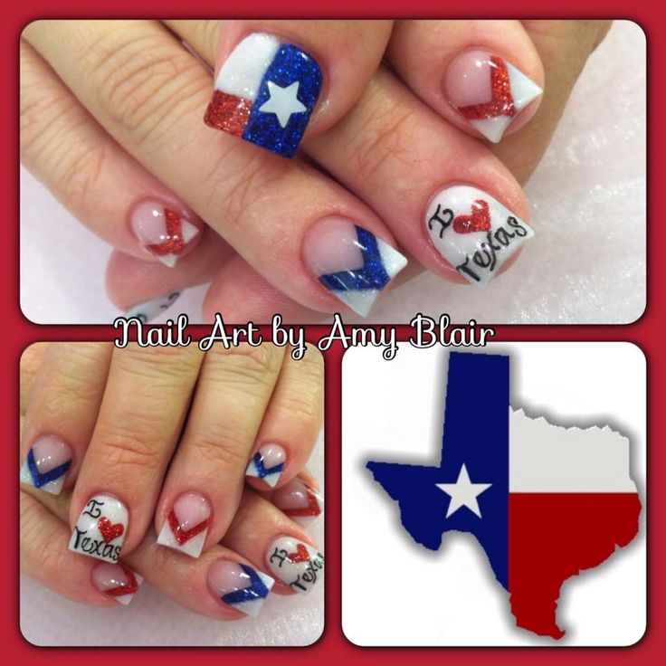 Totally digging the Texas look!