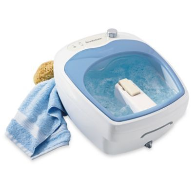 Brookstone® Aqua-Jet Foot Spa® - BedBathandBeyond.com