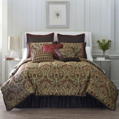 jcpenney bedding sets rouen 7 pc comforter set jcpenney shopping 584