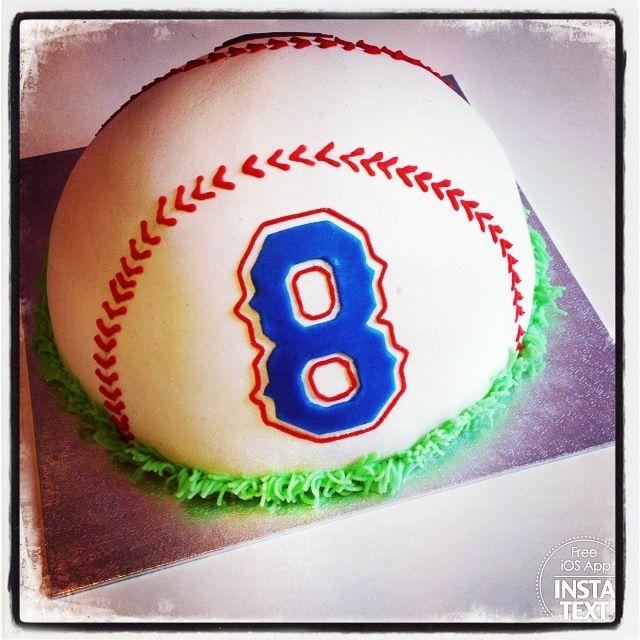 Custom Texas Rangers Baseball cake