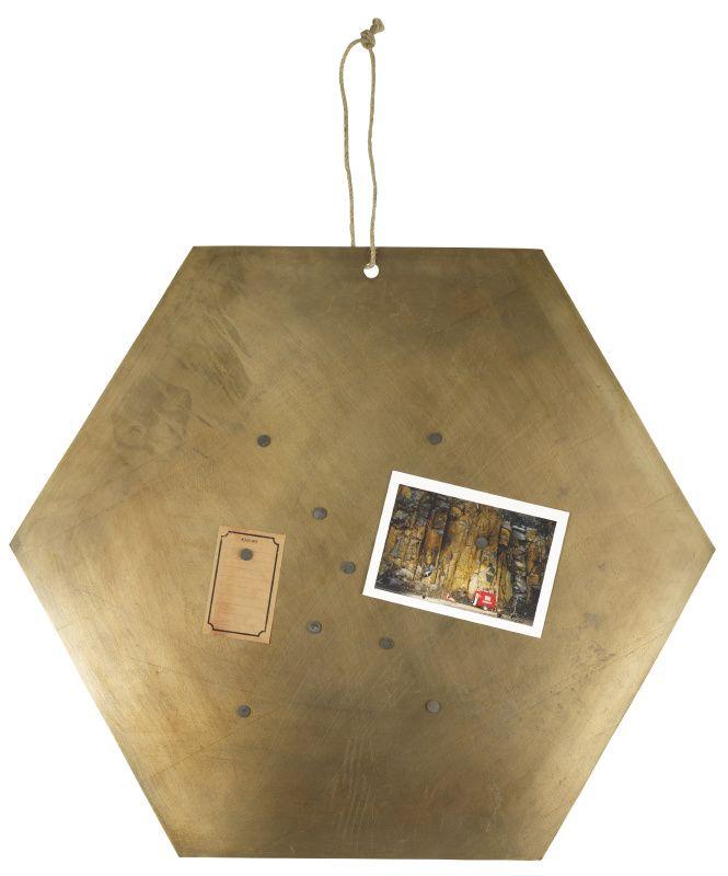 "Magneetbord ""Hexagon"""