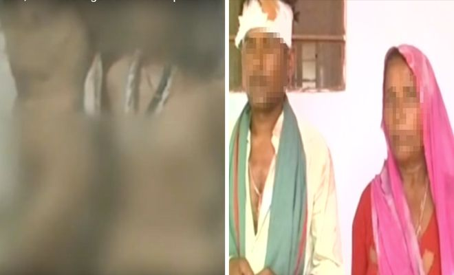 #Woman, lover tied together naked in #Rajasthan village for 2 days