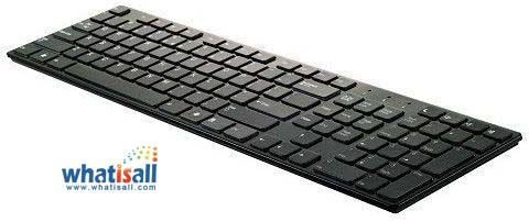 Chiclet keyboard is a keyboard design which has spaced out and wide buttons for better typing ergonomics; they are used extensively on laptops now.