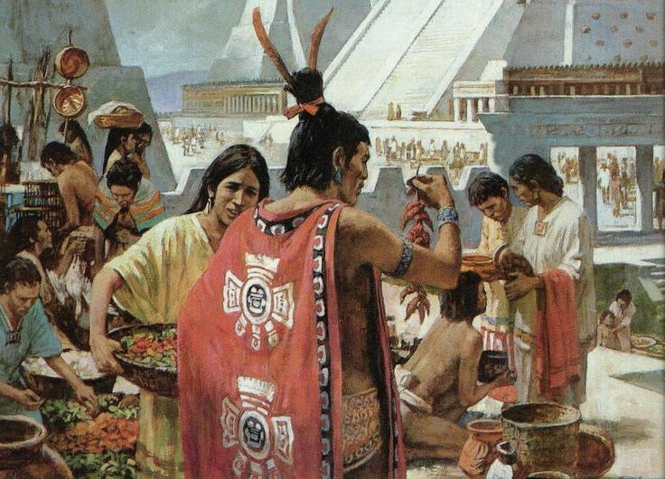 Mercado azteca...
