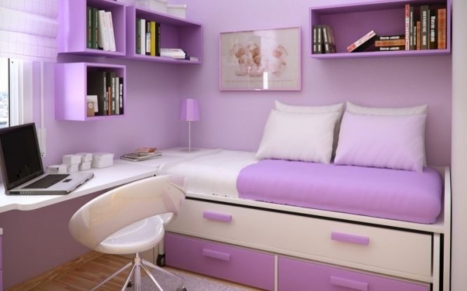 Teenage bedroom ideas for girls small bedroom space