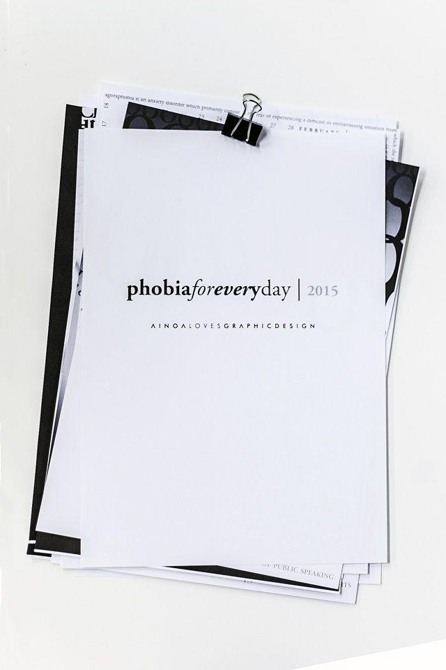Ainoa Graphic Design Fobia-kalenteri 2015