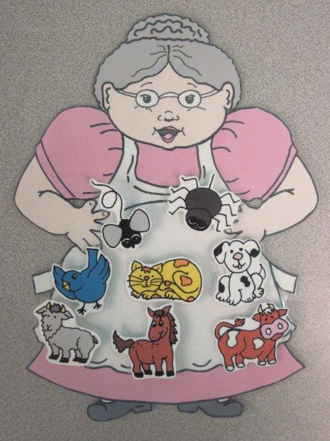 There Was an Old Lady Who Swallowed a Fly free printable