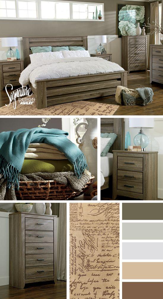 zelen bedroom ashley furniture