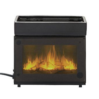 Product image of Fireplace ScentGlow® Warmer. Feel of a fire with the hassle. Fireplace wax warmer.