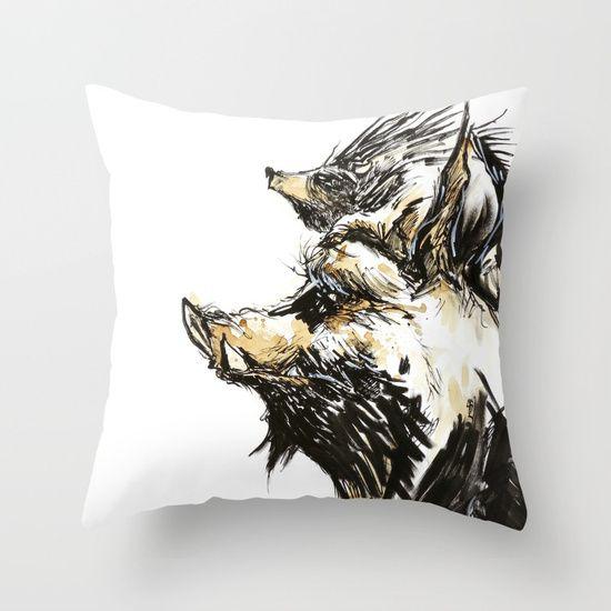 drawing  graphite  ink/pen  comic   illustration  figurative  hedgehog  boarhog   wild-boar  porcupine  punk