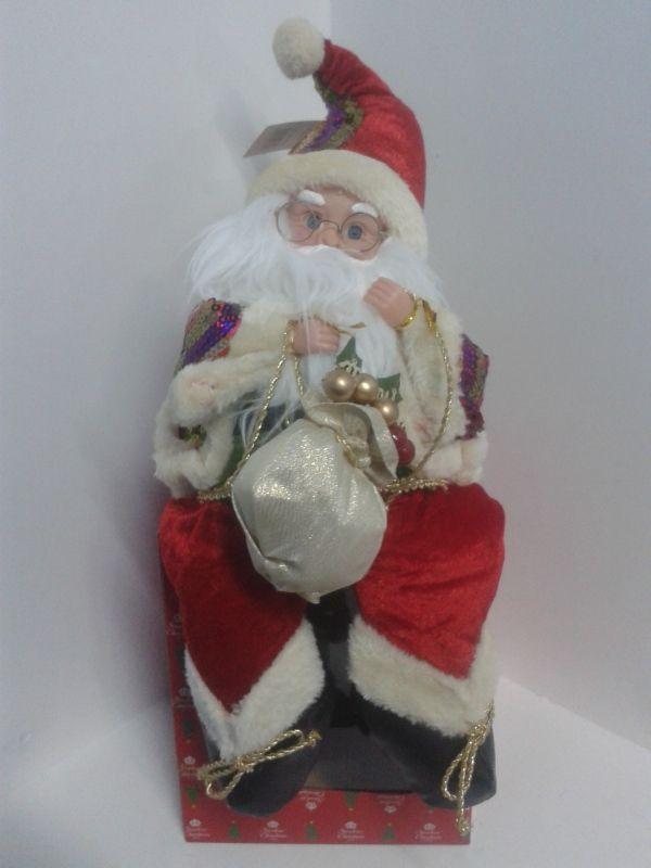 Muñeco Papa Noel musical. #DecoracionesNavidad2013 #DecoracionNavidadCali