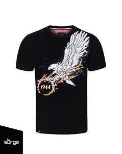 """Koszulka """"ODZNAKA SPADOCHRONOWA"""" czarna"""