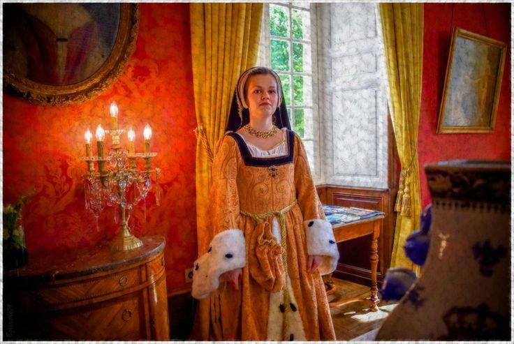 Carnaval Re-Naissance Chinon journée du Patrimoine 2016 au Château de Marcay