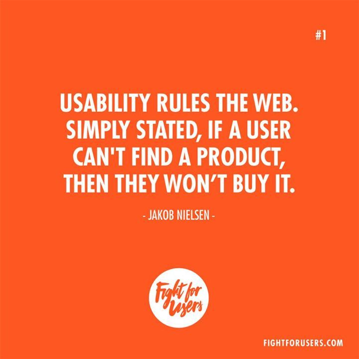 #Usability rules the web. @NNgroup #UX #inspiration #webdesign #inspiration