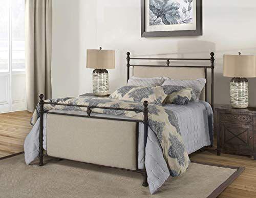 Best Seller Hillsdale Furniture Ashley Bed Set King Rustic Brown