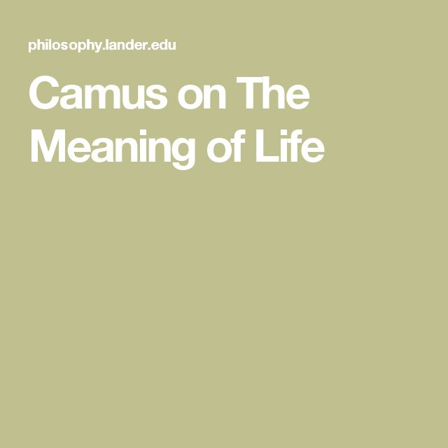 The Meaning of Life: Early Continental and Analytic Perspectives