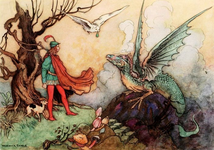 The Fairy Book, by Dinah Craik, illustrated by Warwick Goble