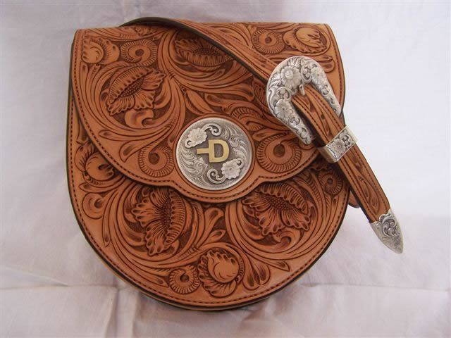 Andy stevens saddlery custom leather accessories for Furniture carving patterns