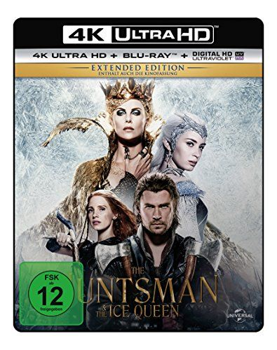The Huntsman & The Ice Queen - Extended Edition - Ultra HD Blu-ray [4k + Blu-ray Disc]