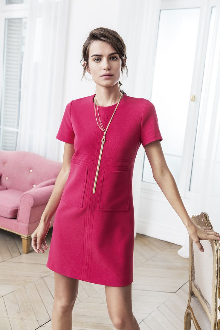 The color of spring 2016 is definitely pastèque! You can find this amazing Whistles dress from Stockmann. #stockalovesparis