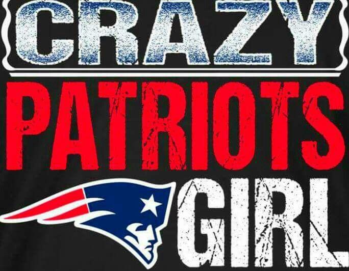 Imma Crazy #PATRIOTS GIRL