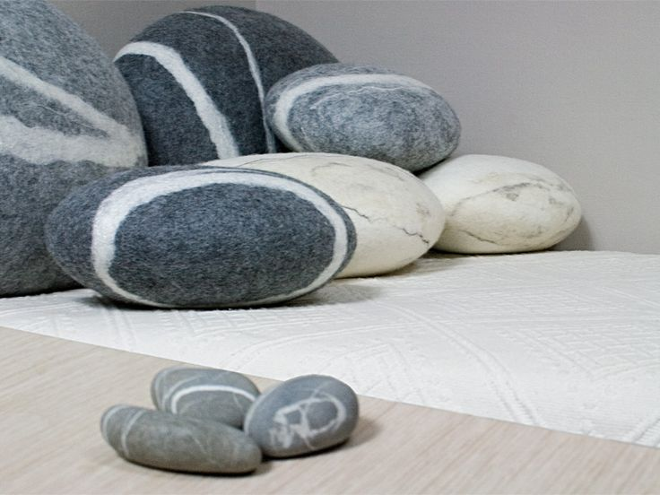 stone no 3 l pillow design idea pinterest stone. Black Bedroom Furniture Sets. Home Design Ideas