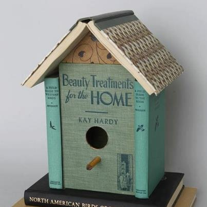 Beauty treatments for the Home... bird homes can be pretty too.