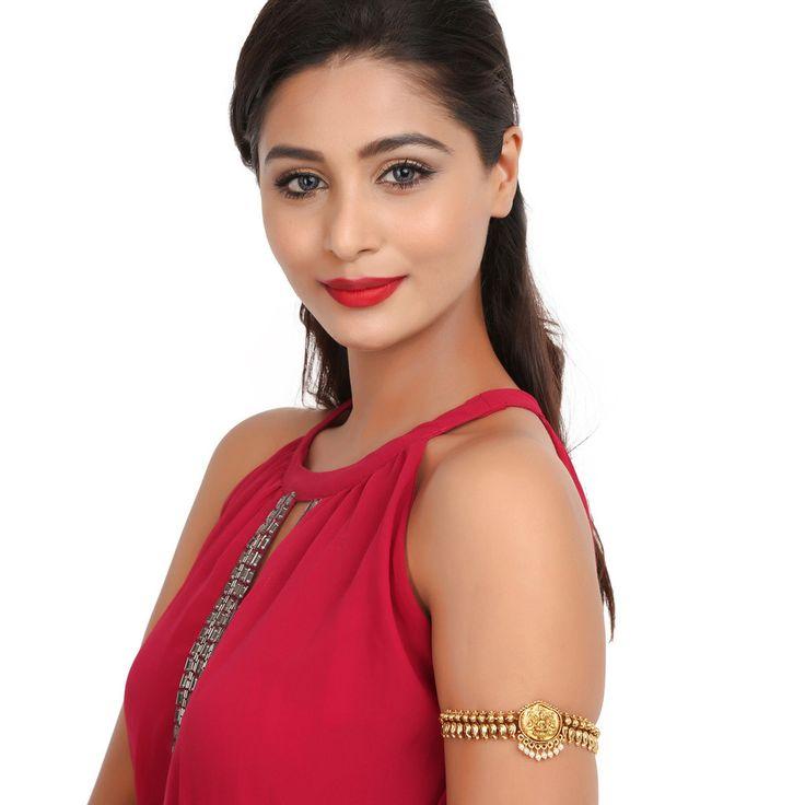 Antique BajuBand 56536 #Kushals #Jewellery #Fashion #Indian #Jewellery #Wedding #Accessories #BajuBand #Antique #Festive