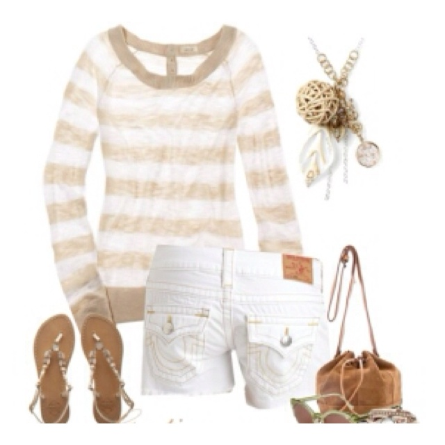 Cute: Fashion, Style, Clothes, Dream Closet, True Religion, Spring Summer, Summer Stripes, Summer Outfits, Summer Night