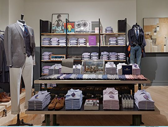 J. Crew's The Ludlow Shop at 50 Hudson, Tribeca, NYC