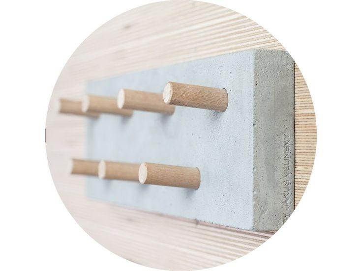 Kombinácia teplého dreva a chladného betonu vnesie do vašeho interiéru nevšedný prvok moderného a industriálného ladenia.