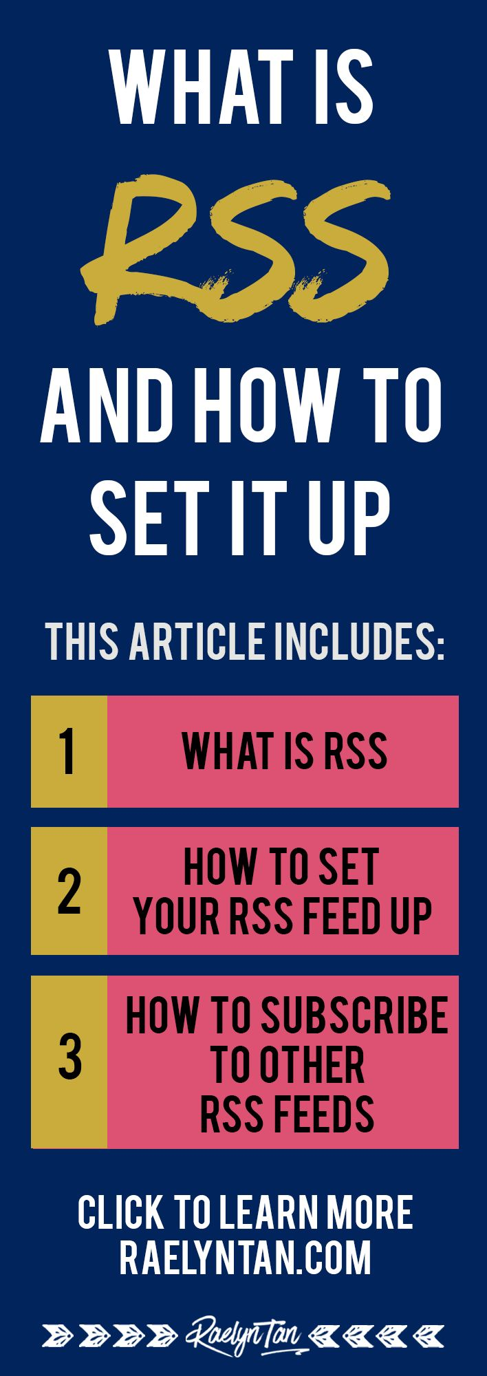 What is RSS? How do you use RSS feeds for WordPress? What about feed readers? In this post you'll learn everything you need to know about RSS feeds.