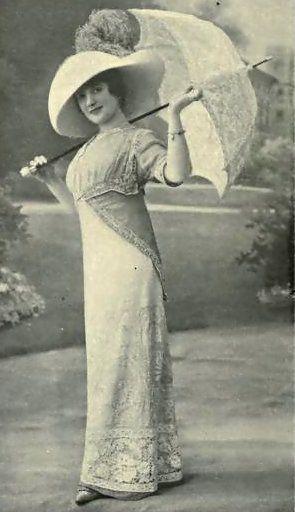 Dress, 1910 Fashion