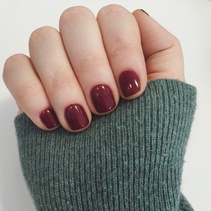 Opi Malaga wine gel manicure