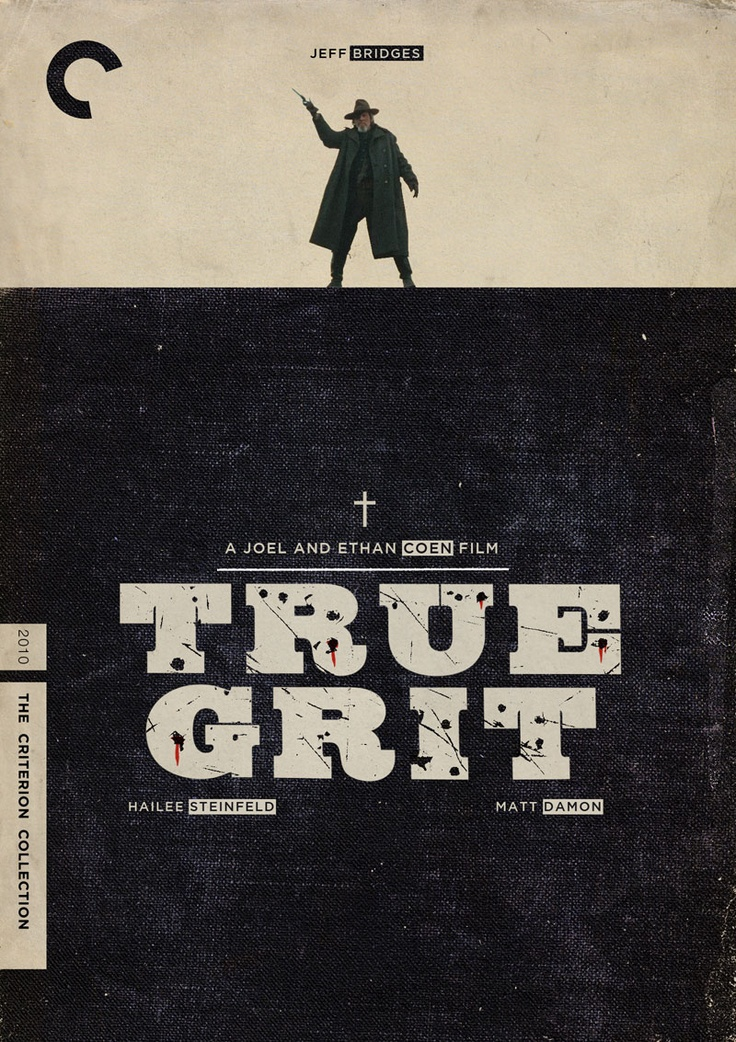 """Double Criterion Covers of The Coen's """"True Grit"""" 