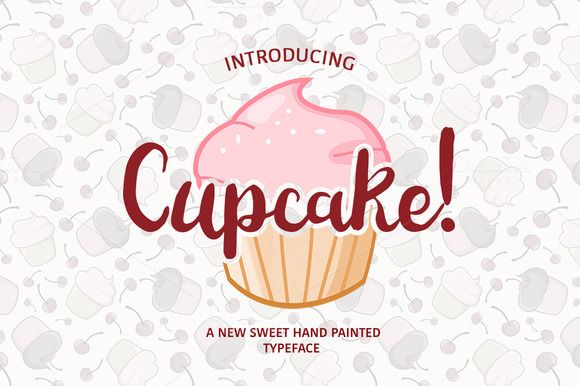 Cupcake! by MediaLab on Creative Market