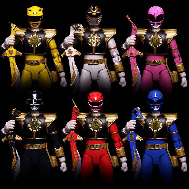Mighty Morphin Power Rangers - Season 2 Variants. Pinned from: Ian Kelley! #SonGokuKakarot