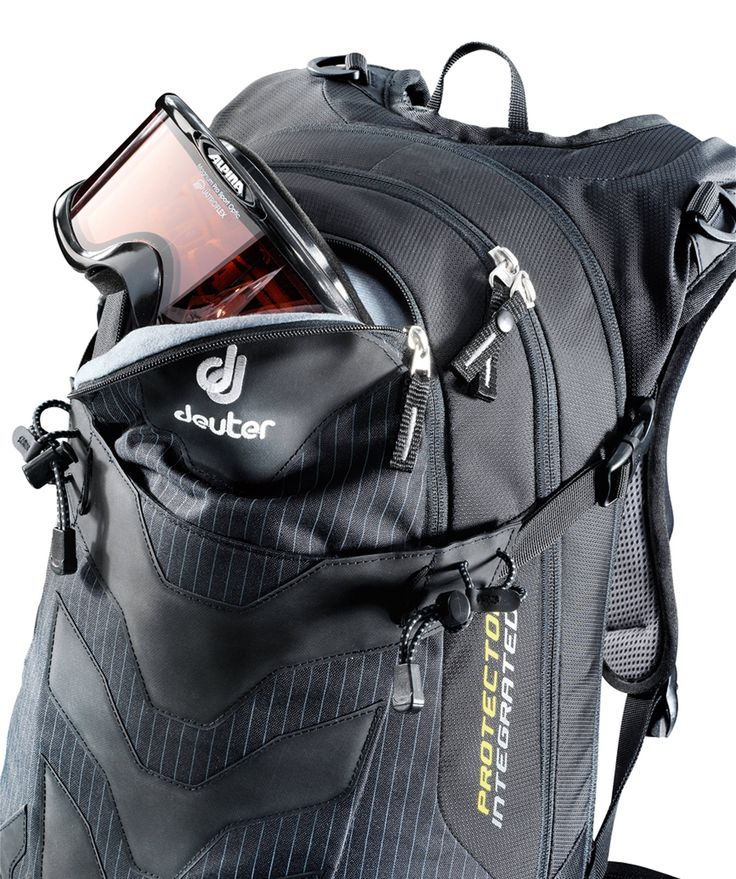 Deuter - Damen Protector- Ski- und Snowboard Rucksack Descender EXP 18 SL