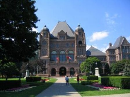 Queens Park in Toronto, Ontario!