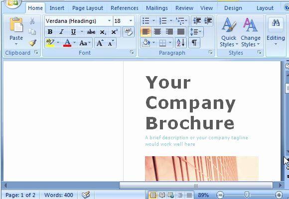 Microsoft Brochure Template Free Lovely Kindlforever Blog Pamphlet Template Free Brochure Template Brochure Design Template
